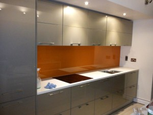 Splashback orange