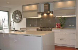An example of a kitchen splashback