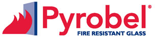 Logo for fire glass company Pyrobel