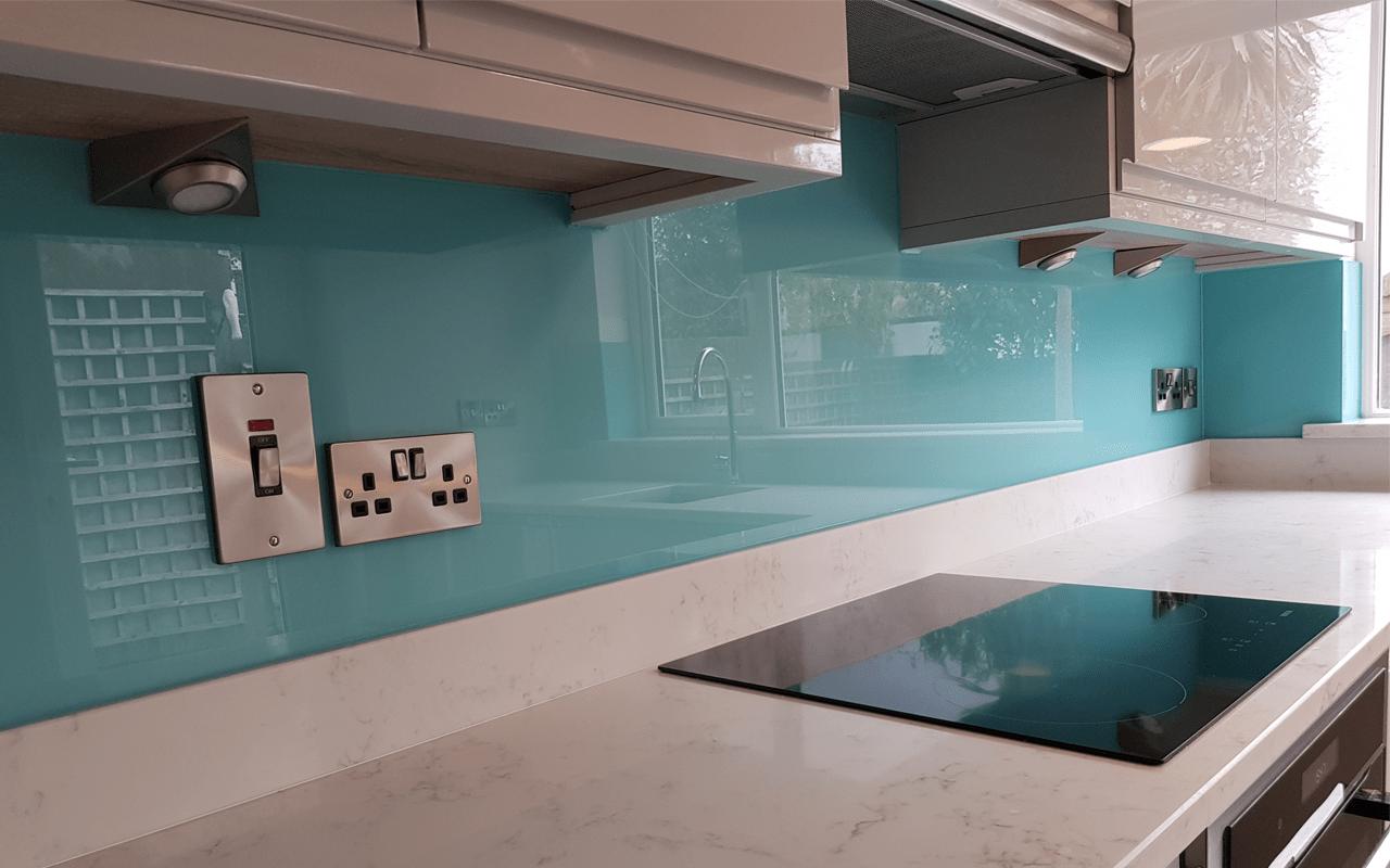 Kitchen Glass Splashbacks Any Colour Size Design Carlen Glass